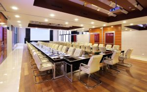 The right conference room